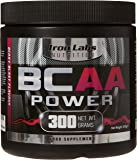 Iron Labs Nutrition, BCAA Power - 15,000mg BCAAs Per Serving - Intra Workout BCAA Supplement Drink - Berry Blast Flavour, 300 grams