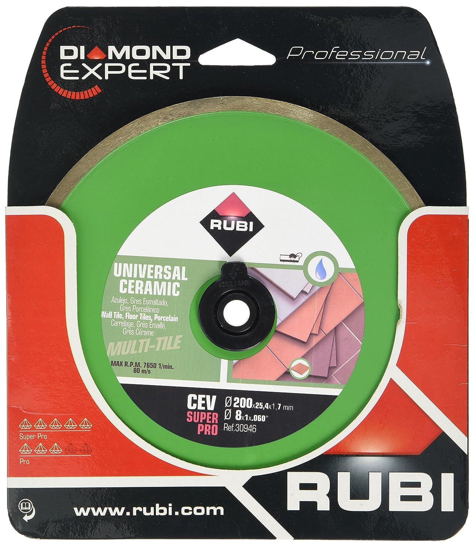 Rubi 30951 Disco Diamante general cer/ámica cont/ínuo 350 mm Gris CEV 350 SUPERPRO