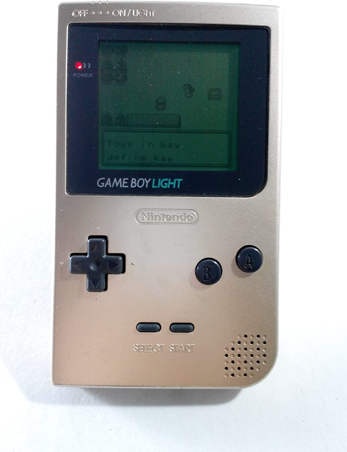 Game Boy Light – Gold Japanese Import Video Game System