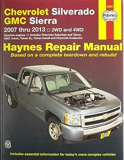 Chiltons general motors full size trucks 2007 13 repair manual chevrolet silverado gmc sierra 2007 2013 2wd and 4wd repair manual haynes fandeluxe Gallery