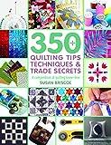 350+ Quilting Tips, Techniques & Trade Secrets (350 Tips, Techniques & Trade Secrets)