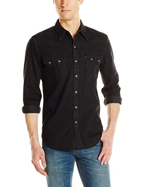 9ad07510f0b Levi s Men s Sawtooth Western Shirt  Amazon.ca  Clothing   Accessories
