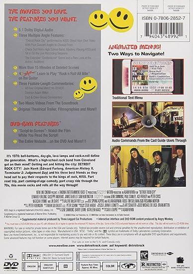 Amazoncom Detroit Rock City New Line Platinum Series Michael De