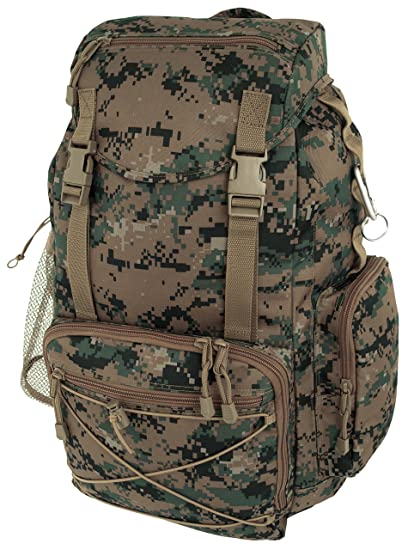 30cdbdf5d2d7 Image Unavailable. Image not available for. Color  Marines Marpat Woodland  Digital Camo Cargo Rucksack