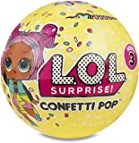 Giochi Preziosi LLU10000 - Lol Surprise Confetti Pop con Mini Doll a Sorpresa, 9 Livelli, Modelli Assortiti