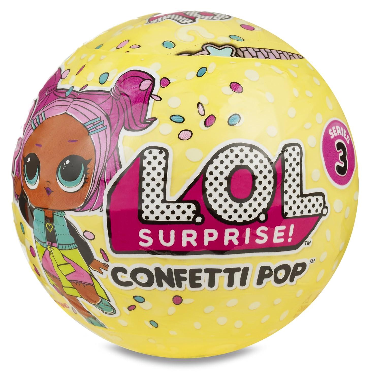 L.O.L. Surprise! - Confetti POP, 1 unidad (Giochi Preziosi LLU10000)...