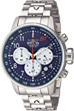 Invicta Men's 'S1 Rally' Quartz Stainless Steel Casual Watch, Color:Silver-Toned (Model: 23080)