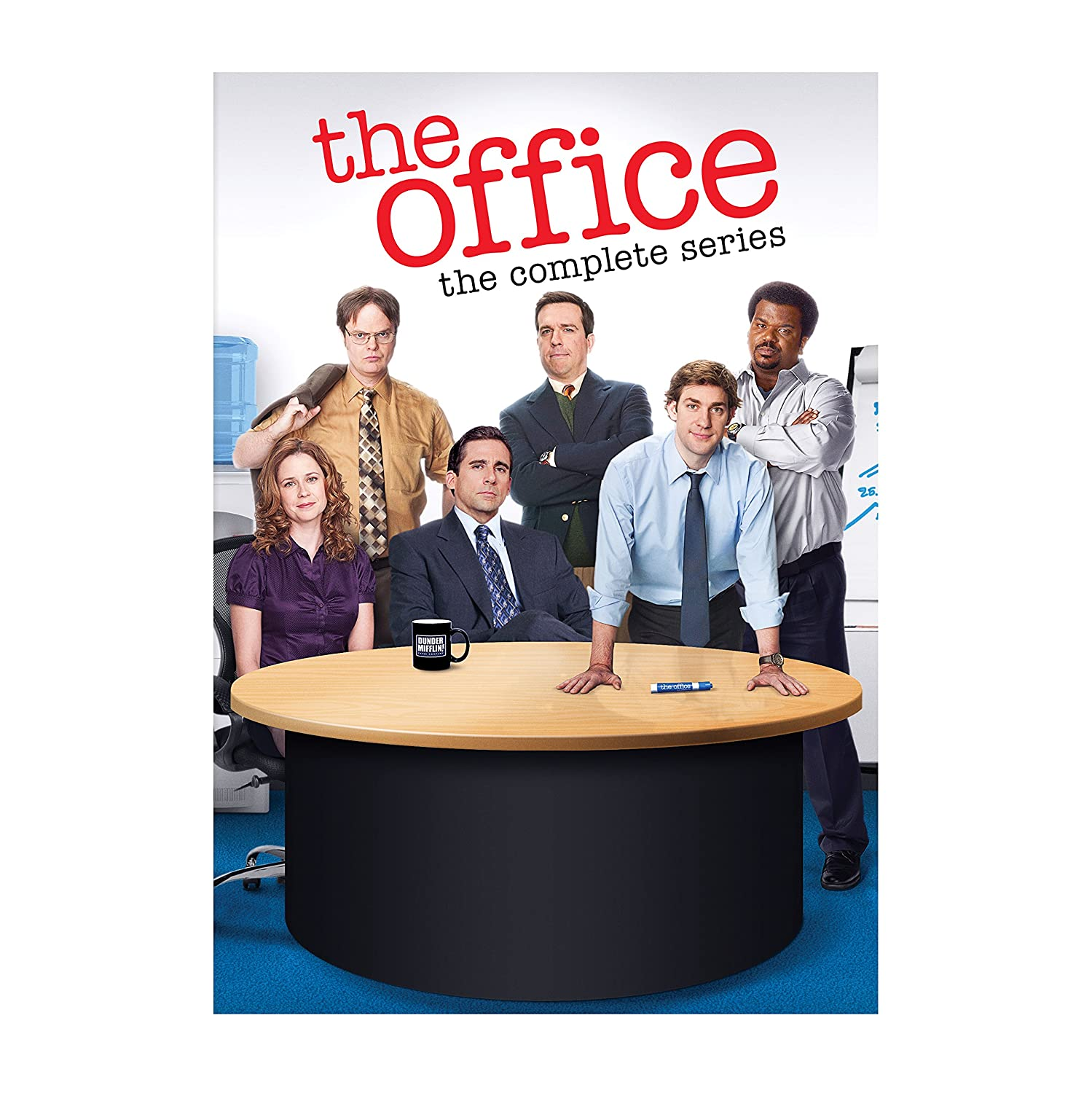 The Office: The Complete Series Steve Carell Rainn Wilson Jenna Fischer John Krasinski