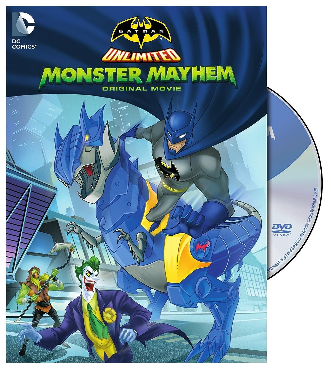 Amazon.com: Batman Unlimited: Monster Mayhem (DVD): Heath ...