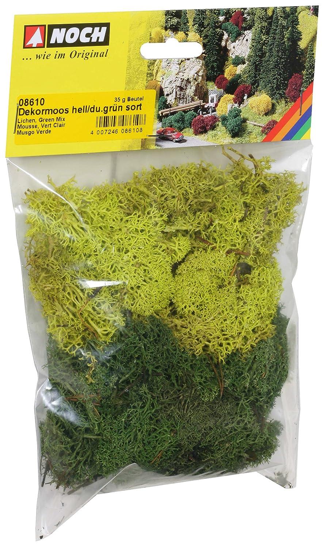 Sacchetto muschio e lichene Verde misto 35 gr NOCH 8610