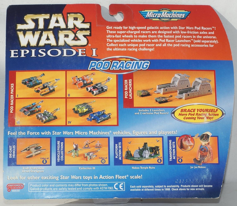 star wars episodei-micro machine pod racing-pod racer pack 1