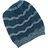 9cb412c1aaa Apt 9 Blue Slouch Beanie Winter Hat for Women - One Size