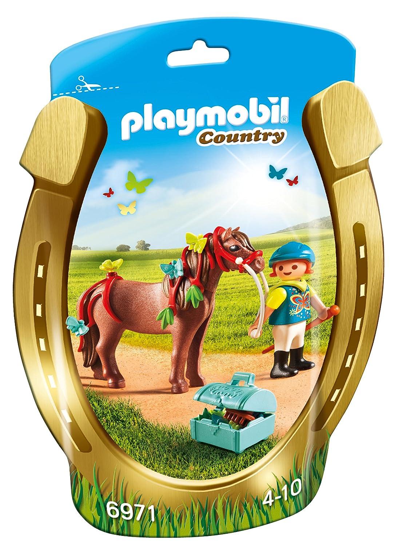 Playmobil - 6971 - Jeu - Poney à Décorer Papillon