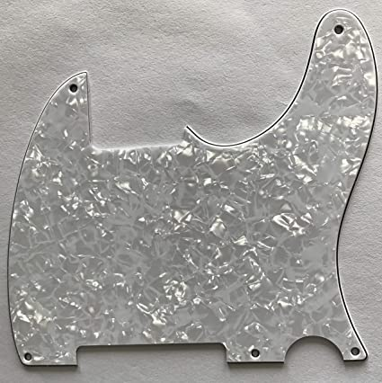 4Ply Red Tortoise Musiclily 6 Hole Guitar Back Plate for China Made Squier
