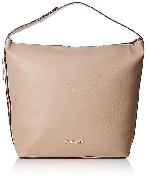 9726314c05 Calvin Klein Jeans Drive Hobo, Borse a spalla Donna, Marrone ...