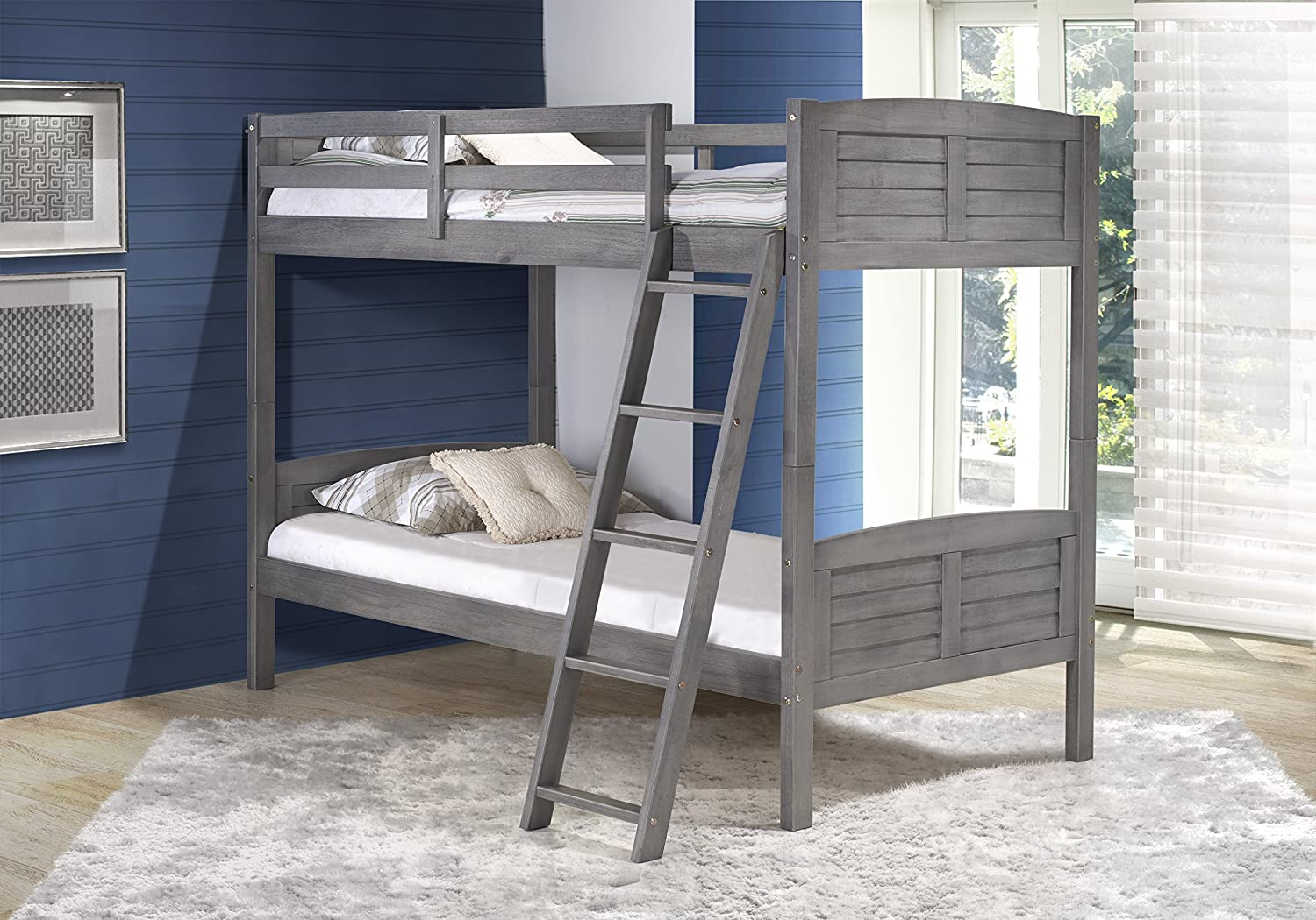 Amazon DONCO Kids 2010TTAG Louver Bunk Bed Twin Twin