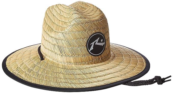 da274072b37 Amazon.com  Rusty Men s Boony Straw Lifegaurd Hat