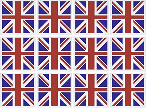 Amazon 3drose union jack old british naval flag greeting 3drose union jack old british naval flag greeting cards 6 x 6 inches m4hsunfo