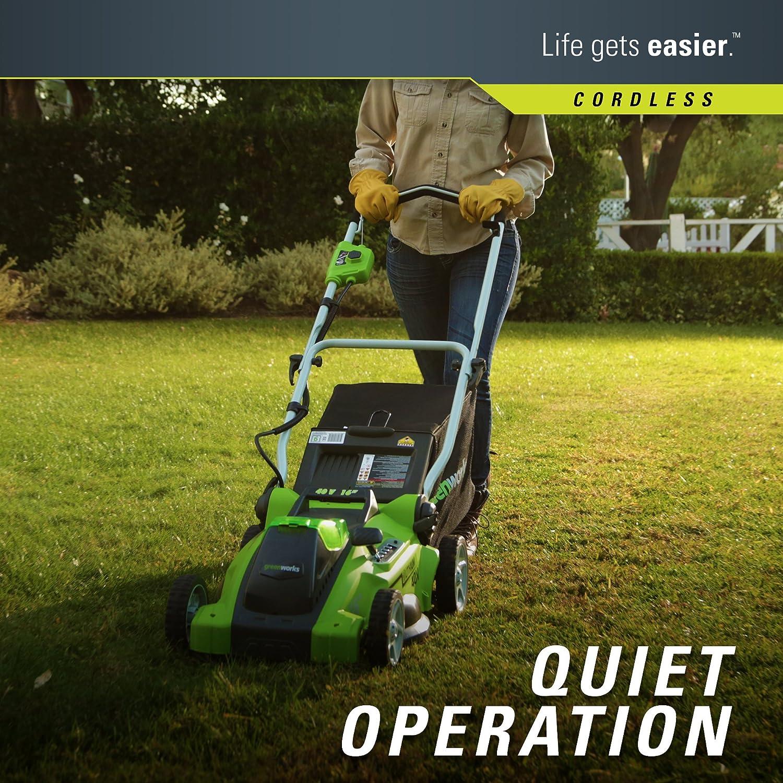 Greenworks 25322 Cordless Lawn Mower greenworks mower 40v