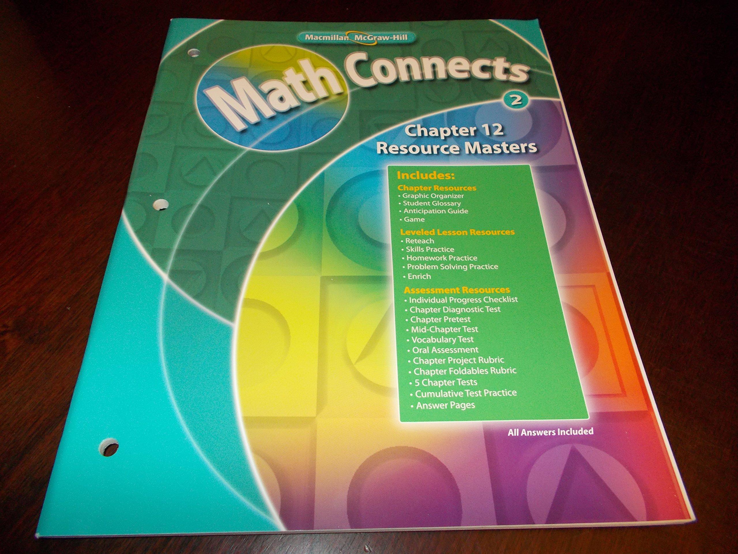 Chapter 12 Resource Masters Macmillan McGraw-Hill Math