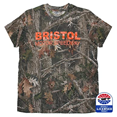 a1a119c8de42 Amazon.com: Bristol Motor Speedway Camo Tee: Clothing