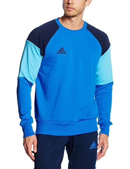 adidas CON16 SWT Camiseta, Hombre, Azul/Maruni/ciabri, S