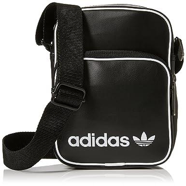 Bag Adulto Vint negro Adidas Unisex Bolso Bandolera Mini 24x15x45 Cm BqnvxO