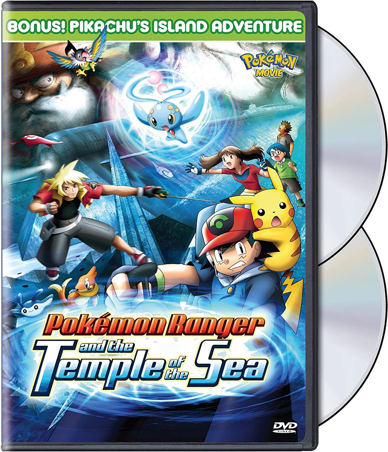 Vol 9 Pokemon Ranger The Temple Of The Sea Amazon Co Uk Dvd