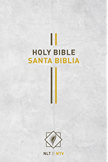 Bilingual Bible / Biblia bilingüe NLT/NTV (Spanish Edition)