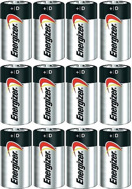 Energizer Max Alkaline D Batteries 12 Count