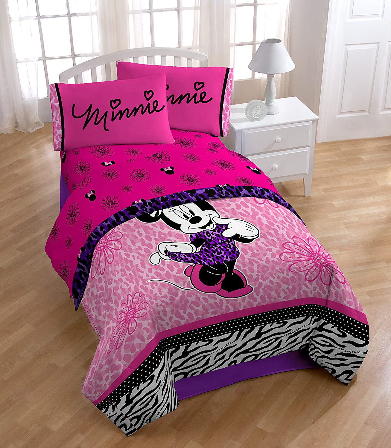 Disney Minnie Mouse Classic Diva Full Sheet Set