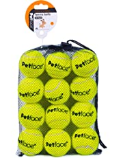 Petface Tennis Balls for Dogs, 12-Piece