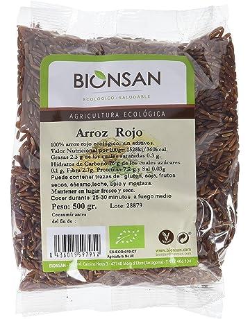 Bionsan Arroz Rojo de Cultivo Ecológico - 6 Paquetes de 500 gr - Total: 3000
