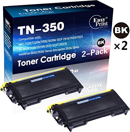 1 Pack New TN-350 TN350 Toner for Brother MFC-7220 MFC-7225N MFC-7420 MFC-7820D