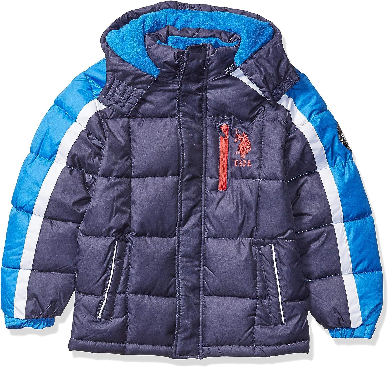 U.S.POLO ASSN Boys Bubble Jacket Down Alternative Coat