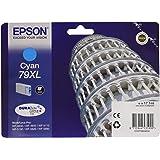 Epson C13T79024010 - Cartucho de tinta, color cian
