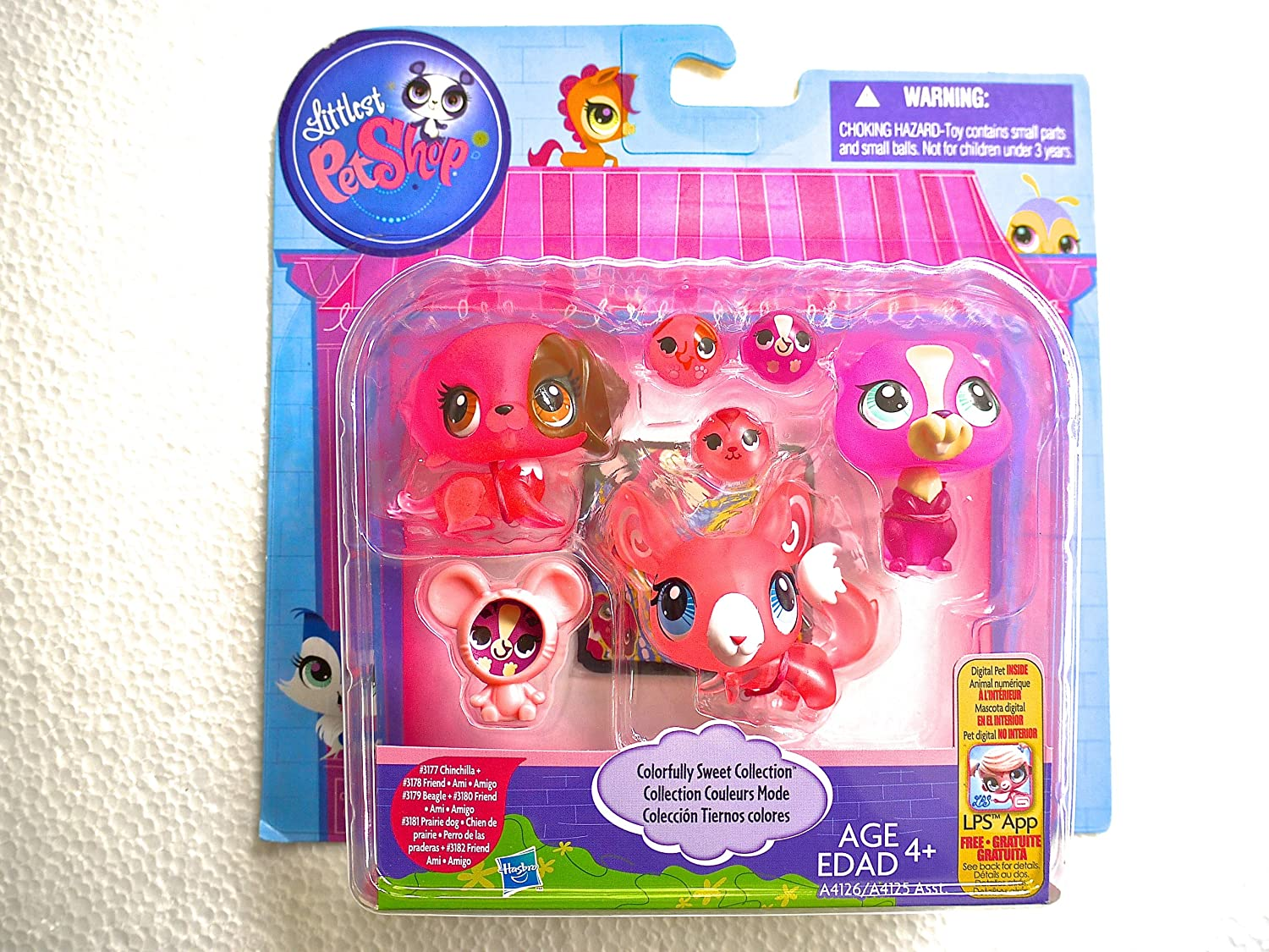 Littlest Pet Shop Colorfully Sweet Collection Hasbro A41262210