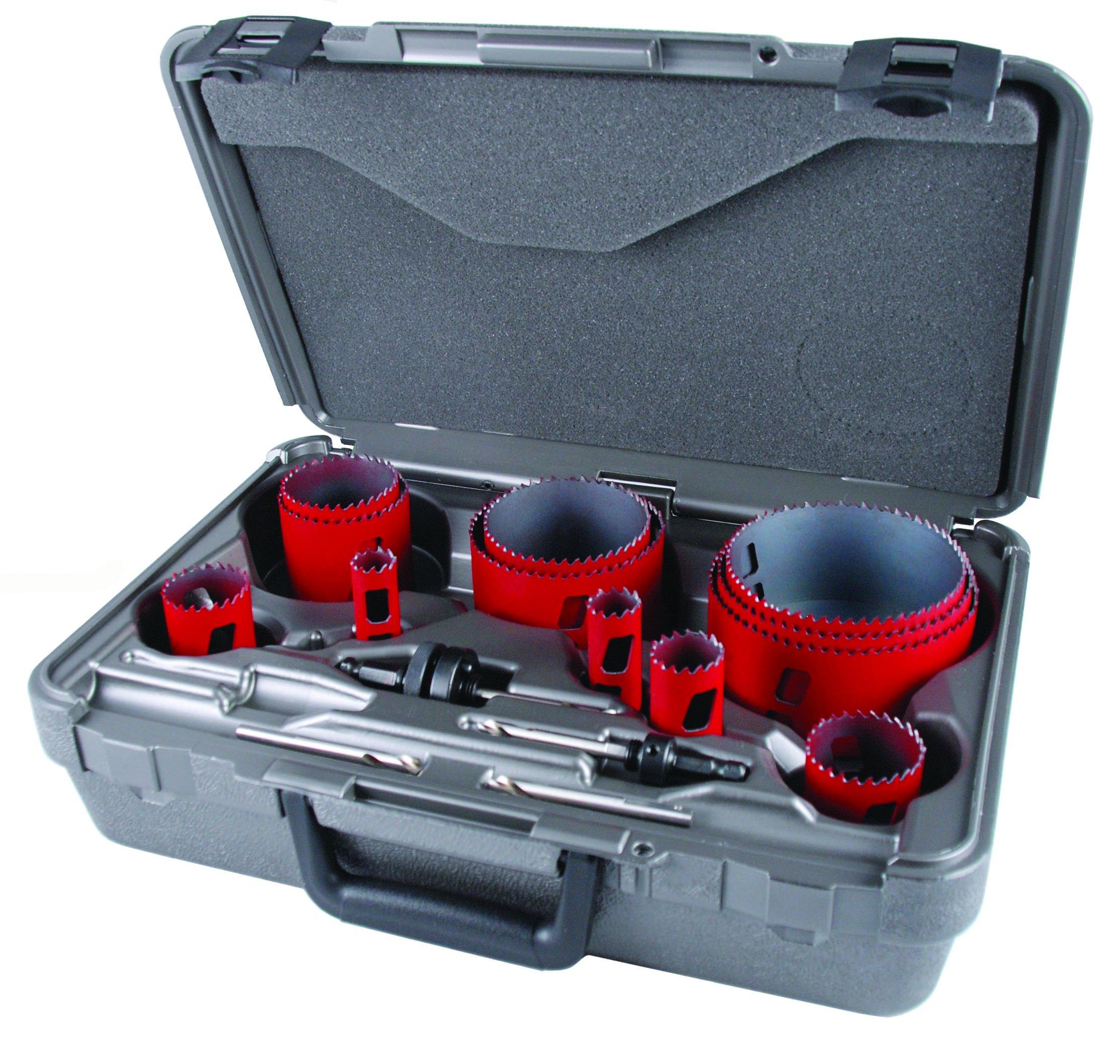 MK Morse MHS16P Bi-Metal Hole Saw Plumber Kit, 16-Piece by MK Morse