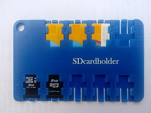 Amazon.com: Micro SIM & Micro SD Memory Card Holder Replaces bulky ...