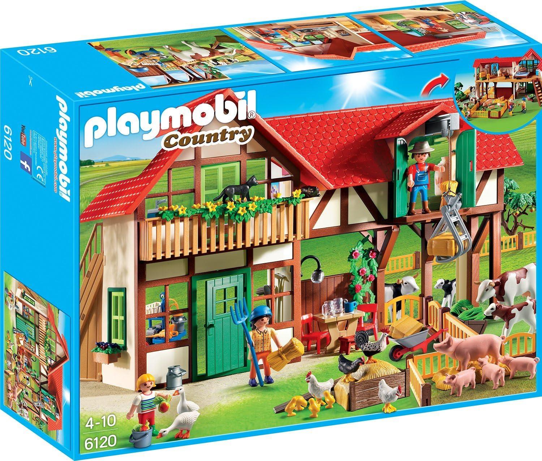 Playmobil - Granja (6120): Amazon.es: Juguetes y juegos