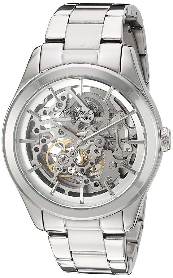 Amazon.com: Kenneth Cole New York Womens 10025560 Automatic Analog Display Japanese Automatic Silver Watch: Kenneth Cole: Watches