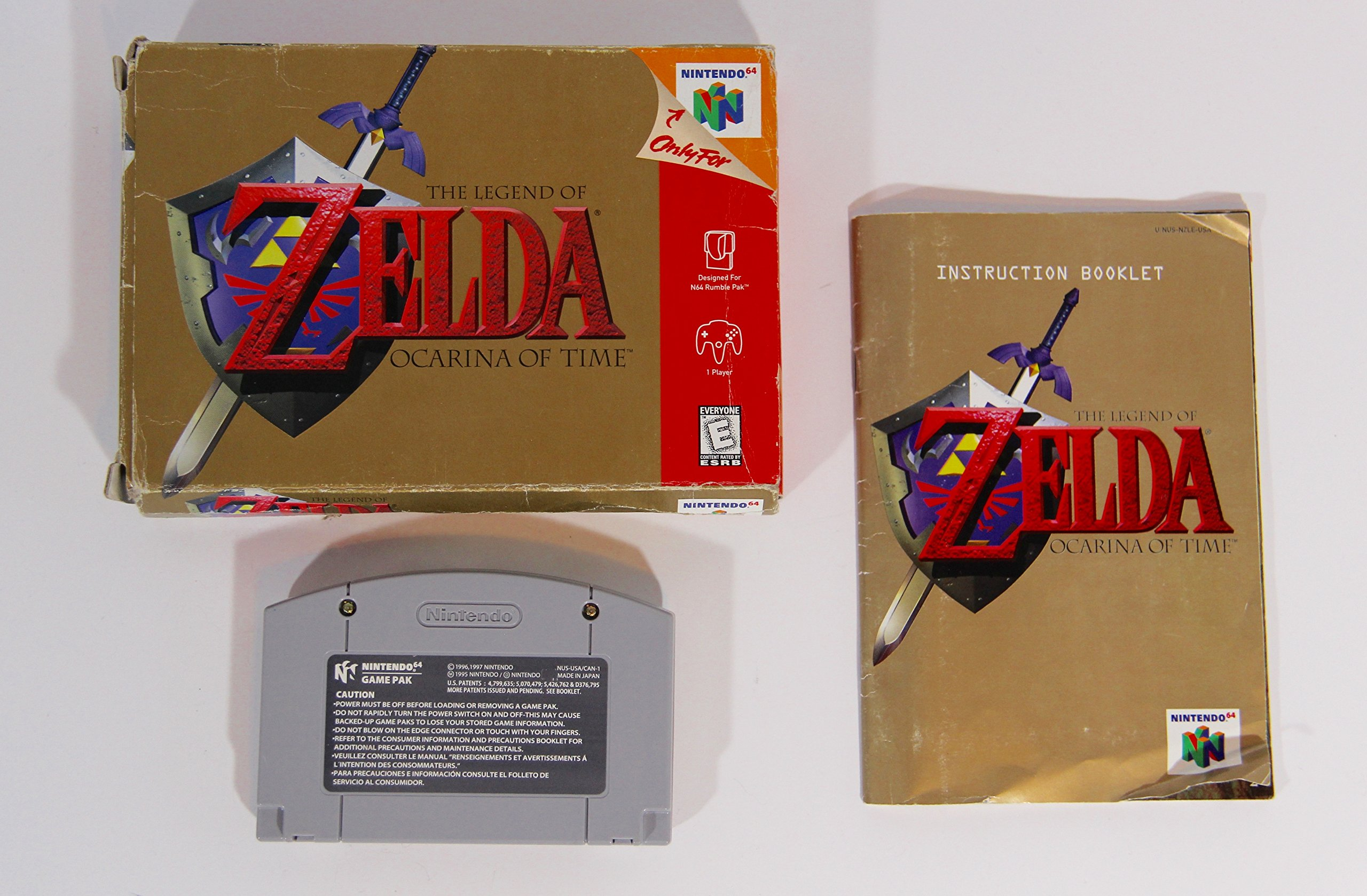Amazon com: The Legend of Zelda: Ocarina of Time: Video Games