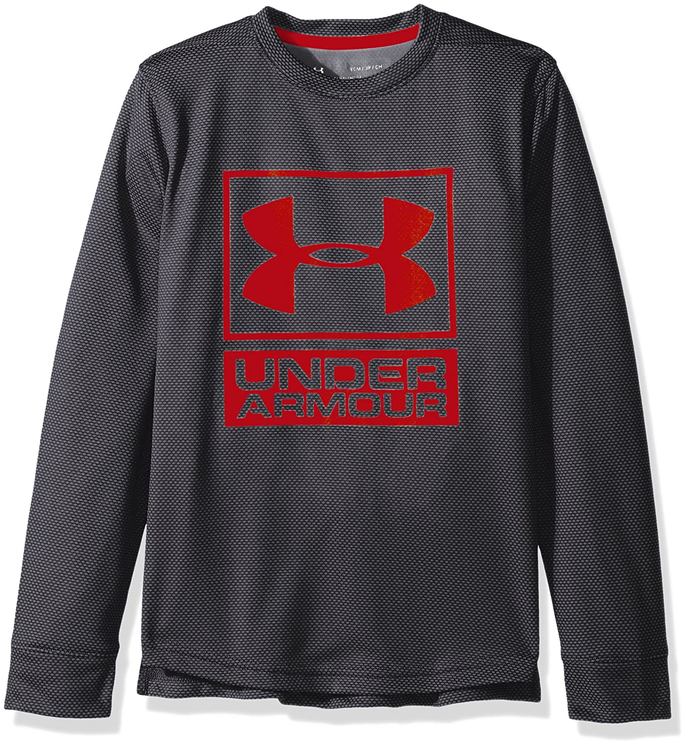 Under Armour Boys' Textured Tech Crew Under Armour Apparel 1299372