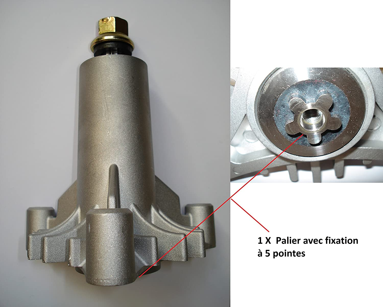 Kit de reparación de cortacésped AYP 97 cm, tiras, cintas y ...