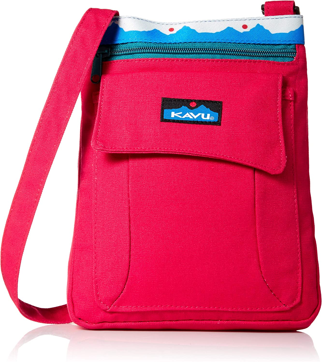 KAVU Keeper Semi Padded Sling Cotton Canvas Crossbody Bag