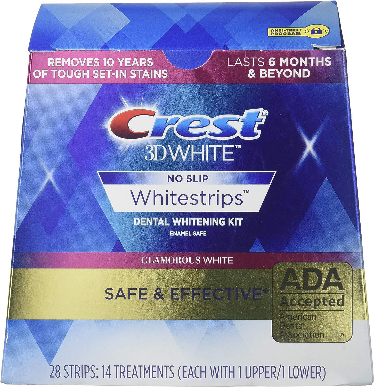 Amazon Com Crest 3d Whitestrips Luxe Glamorous White 28 Count