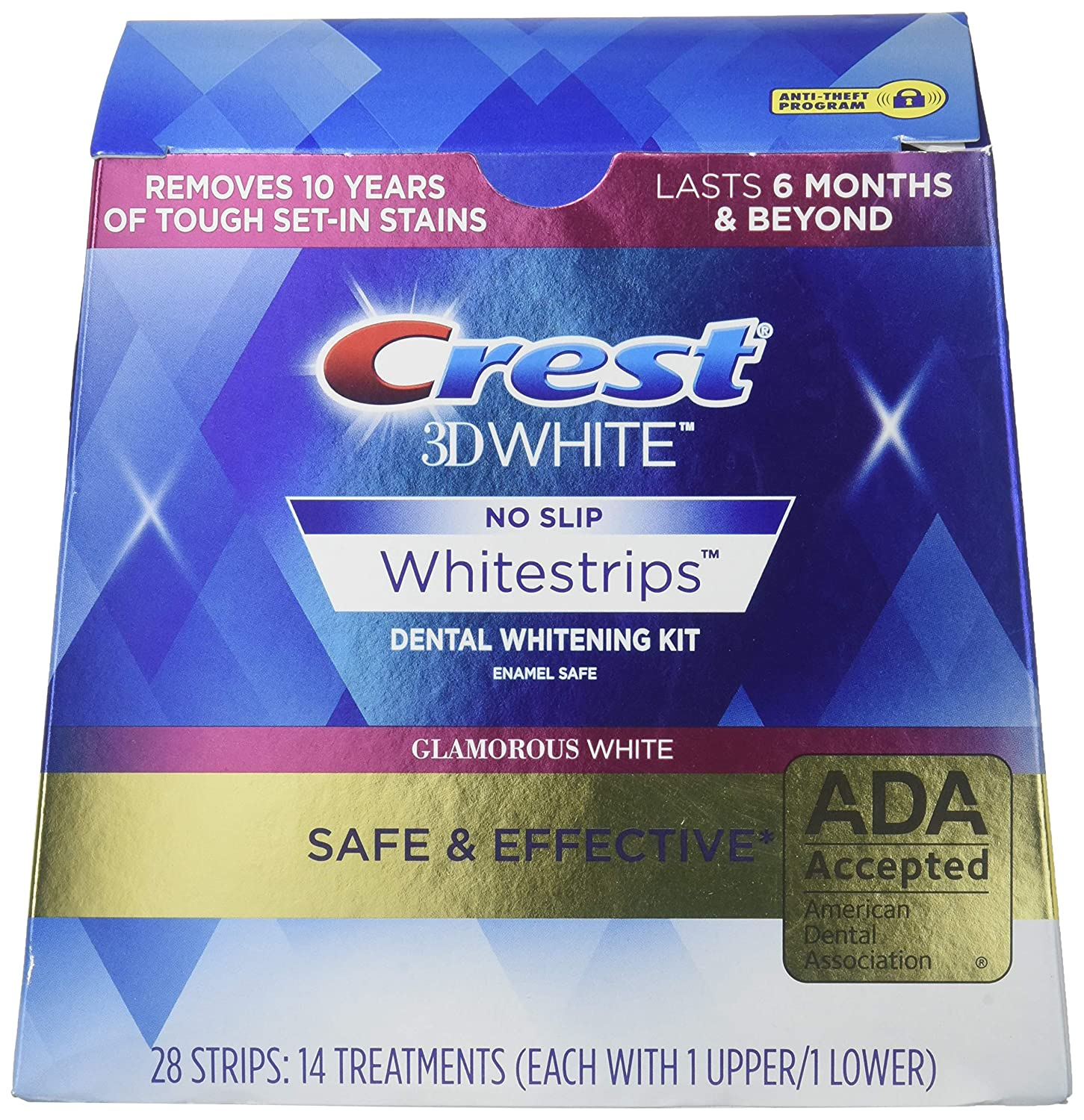 Crest 3D Whitestrips LUXE Glamorous White 28 Count