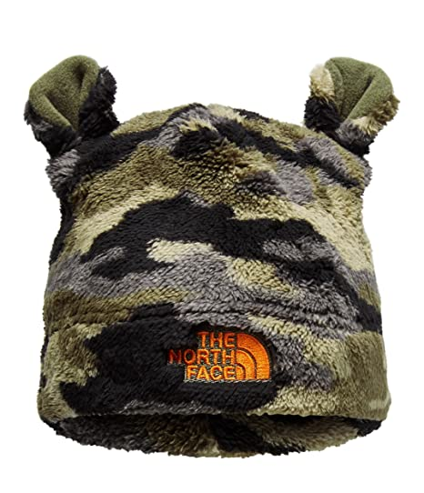 The North Face Baby Bear Beanie - New Taupe Green Camo   Persian Orange -  XXS 0a516f5997a6