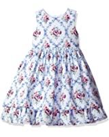 Laura Ashley London Little Girls' Floral Cotton Party Dress