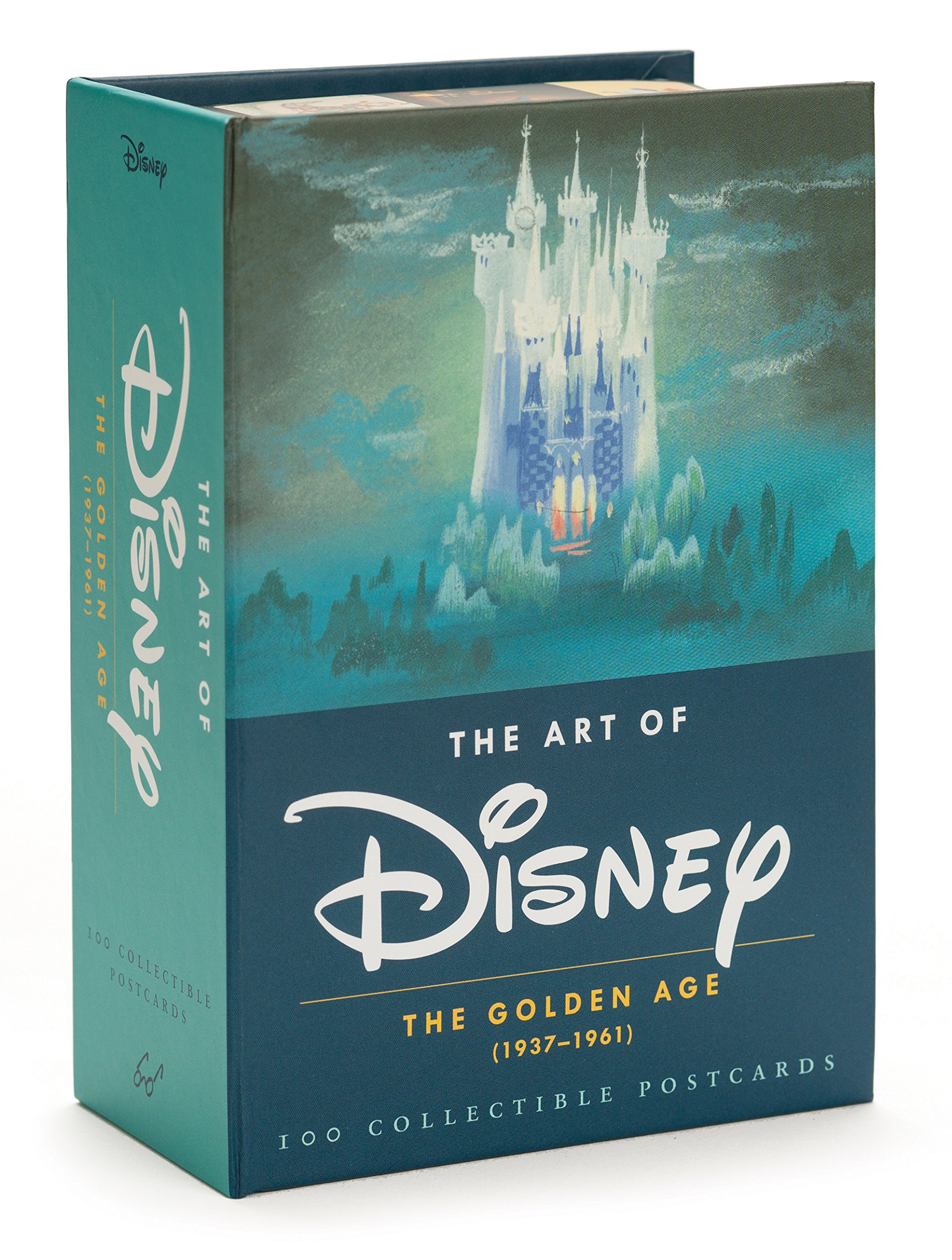 The Art of Disney: The Golden Age 1937-1961 Postcards: Amazon.es: Vv ...